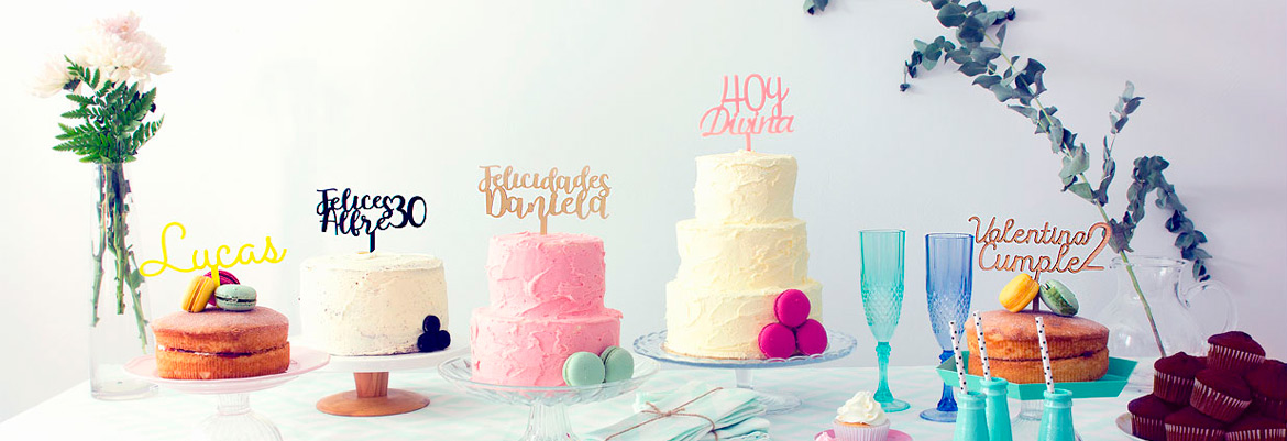 numbers cake toppers