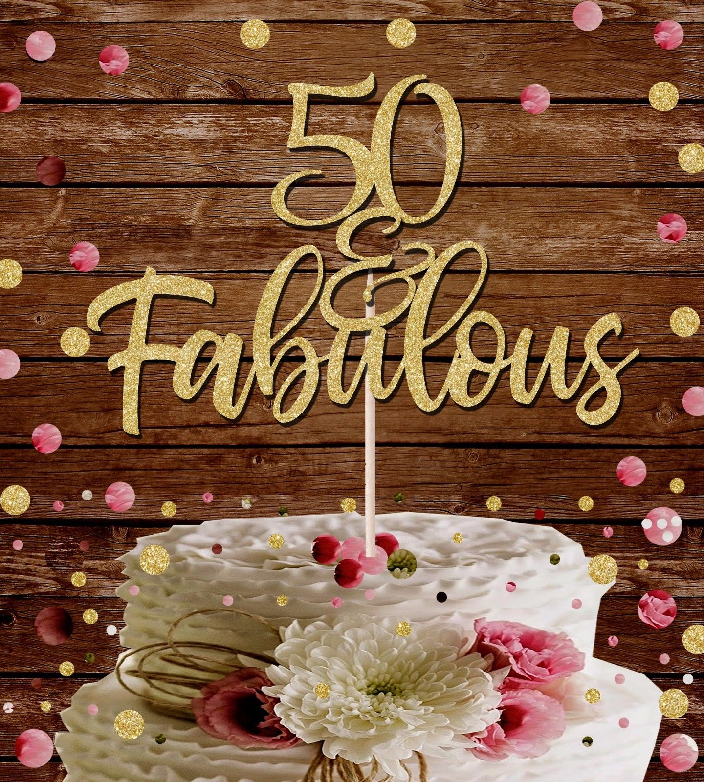 50th Birthday Cake Toppers Shop 50th Birthday Cake Toppers Online