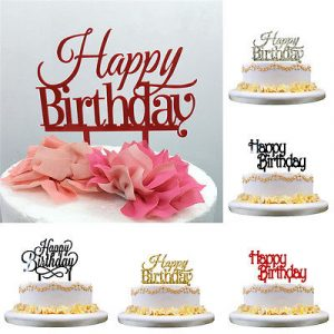 100 Happy Birthday Cake Topper Party City Sweet 16th Birthday