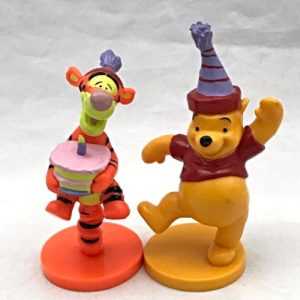 Disney Applause Decopac Cake Toppers Winnie The Pooh Tigger Birthday Party