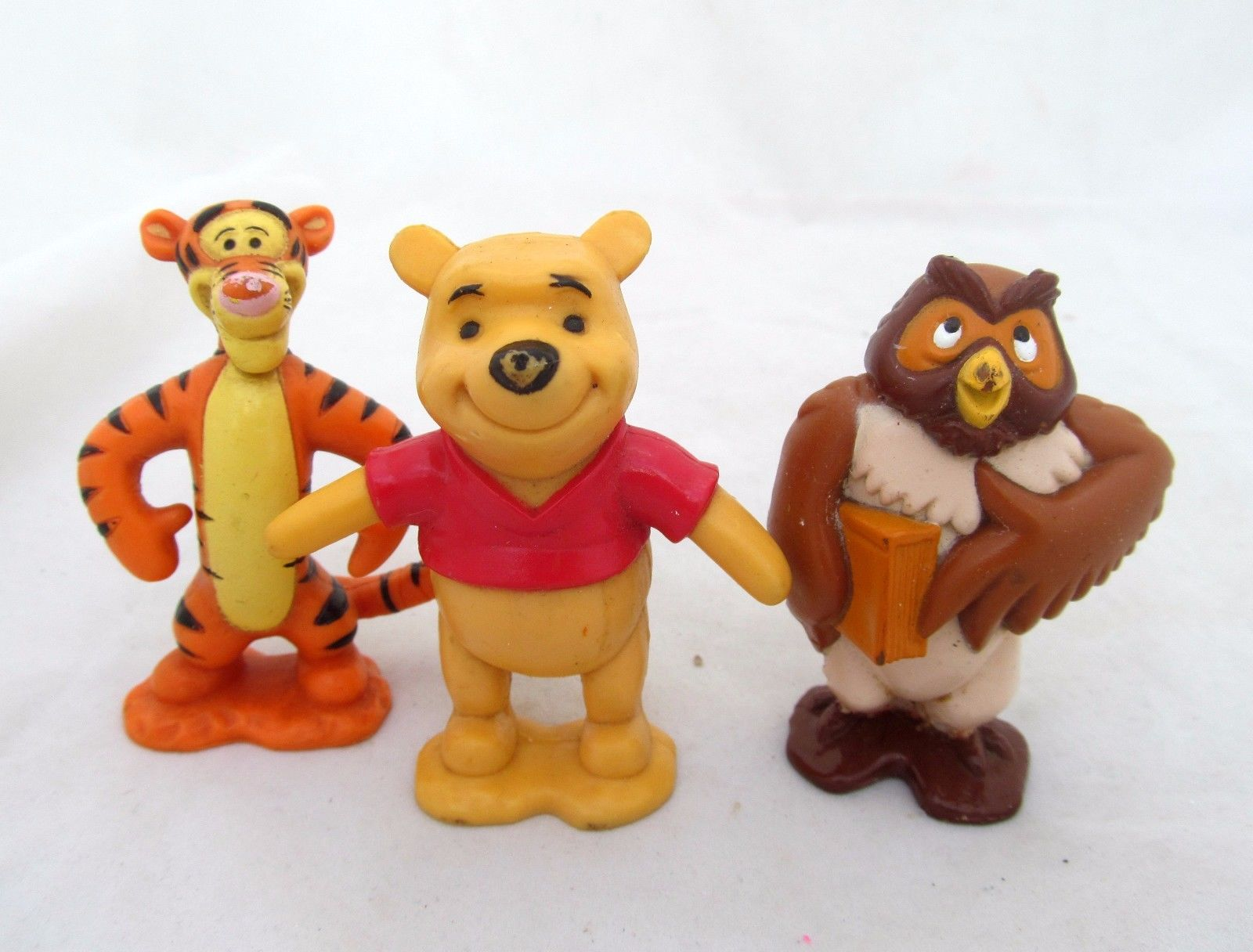 Disney Winnie The Pooh Figure Tigger Owl Figurine Play Set Of 3 Cake Topper Lot