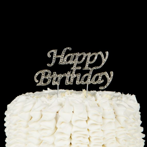 Happy-Birthday-Cake-Topper-Party-Supplies-and-Decoration-Ideas-Silver-0