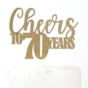 70th birthday cake toppers shop 70th birthday cake toppers online