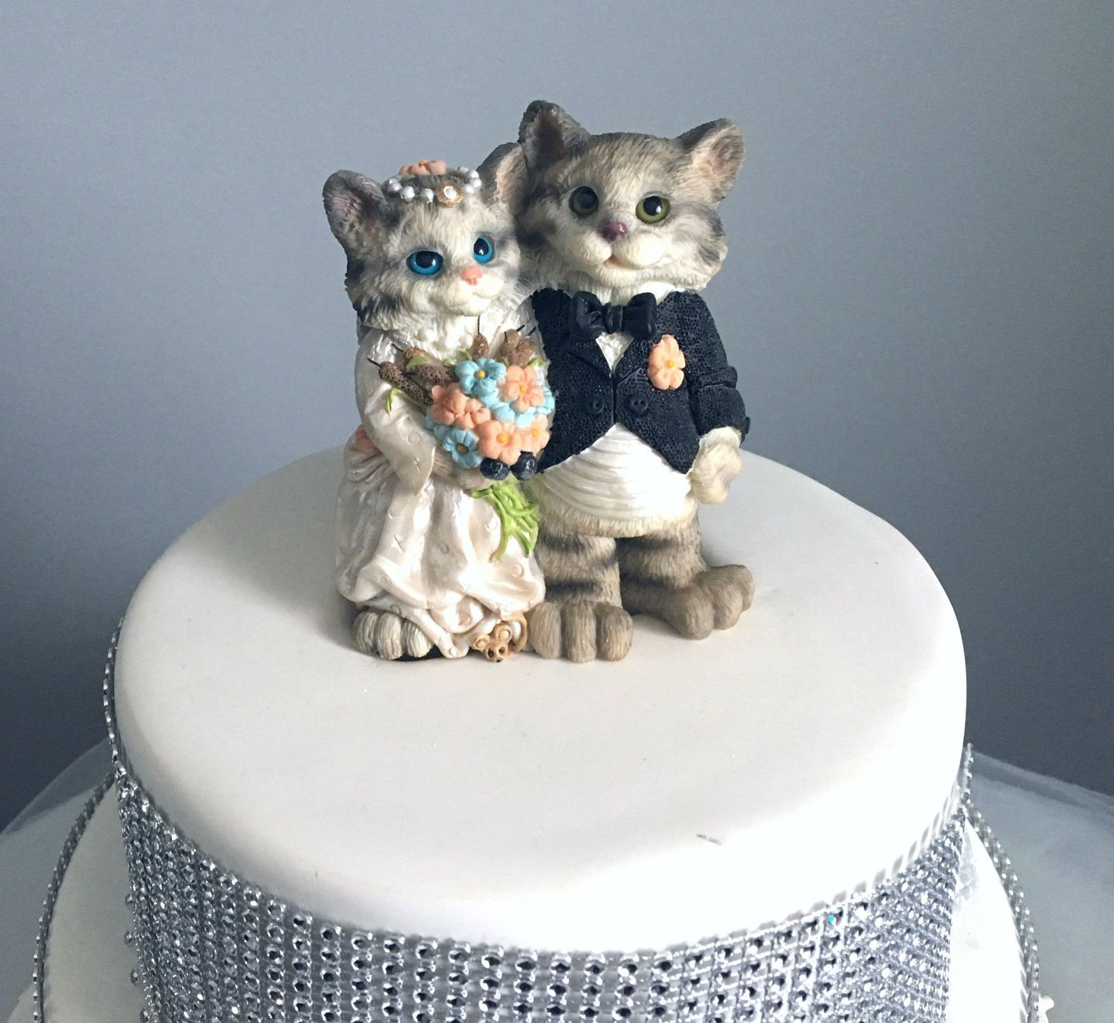 Cat Wedding Cake Toppers - Shop Cat Wedding Cake Toppers Online