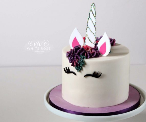 Unicorn-Cake-Topper-Gift-Party-Ideas-Birthday-Decorations-Horn-Tutorial-DIY-UK-0