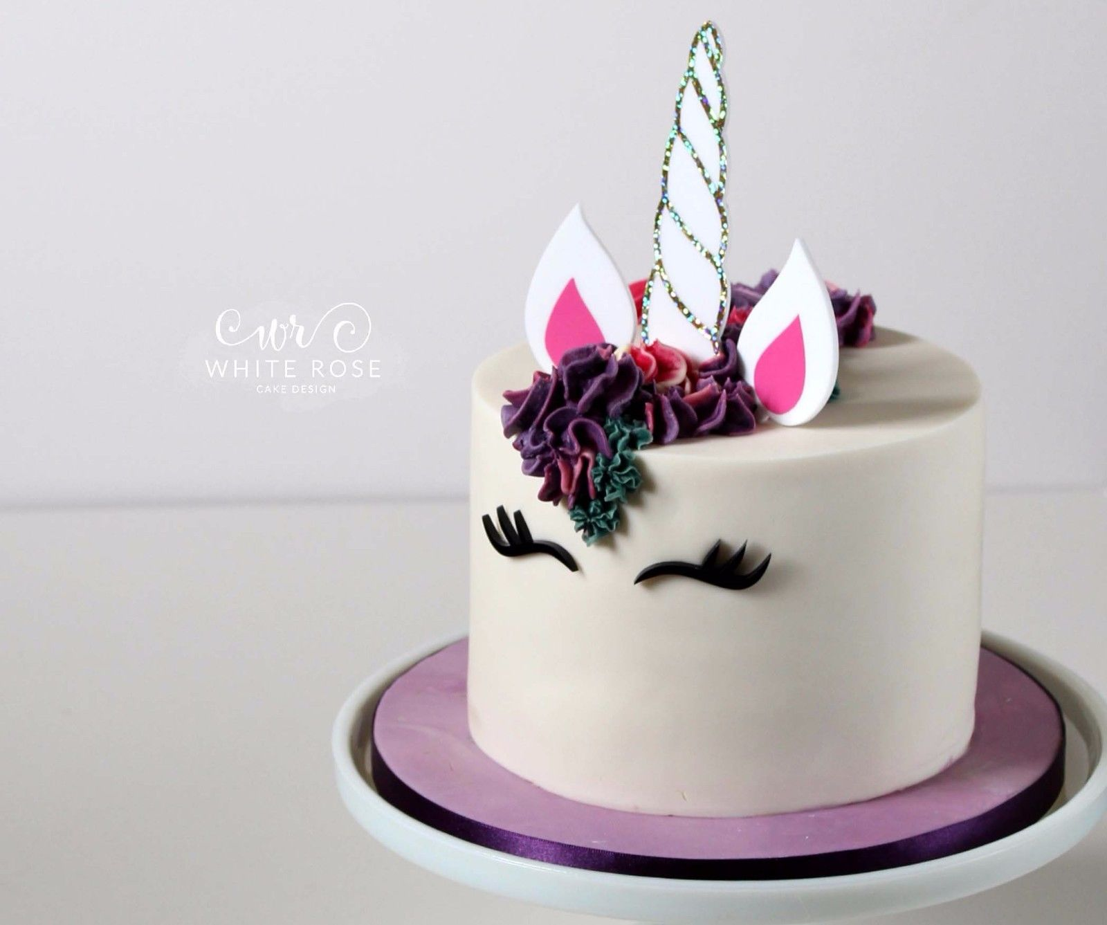 Unicorn Cake Topper Gift Party Ideas Birthday Decorations Horn Tutorial DIY  UK