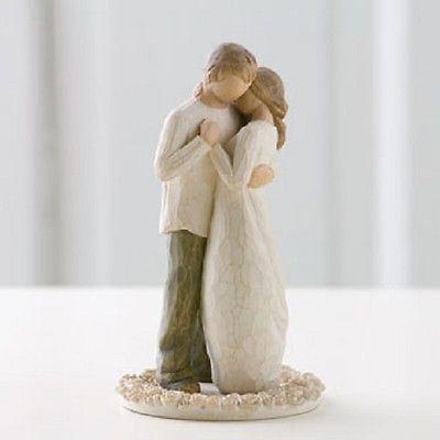 Willow-Tree-Promise-of-Love-Wedding-Cake-Topper-Figurine-Susan-Lordi-26189-New-0
