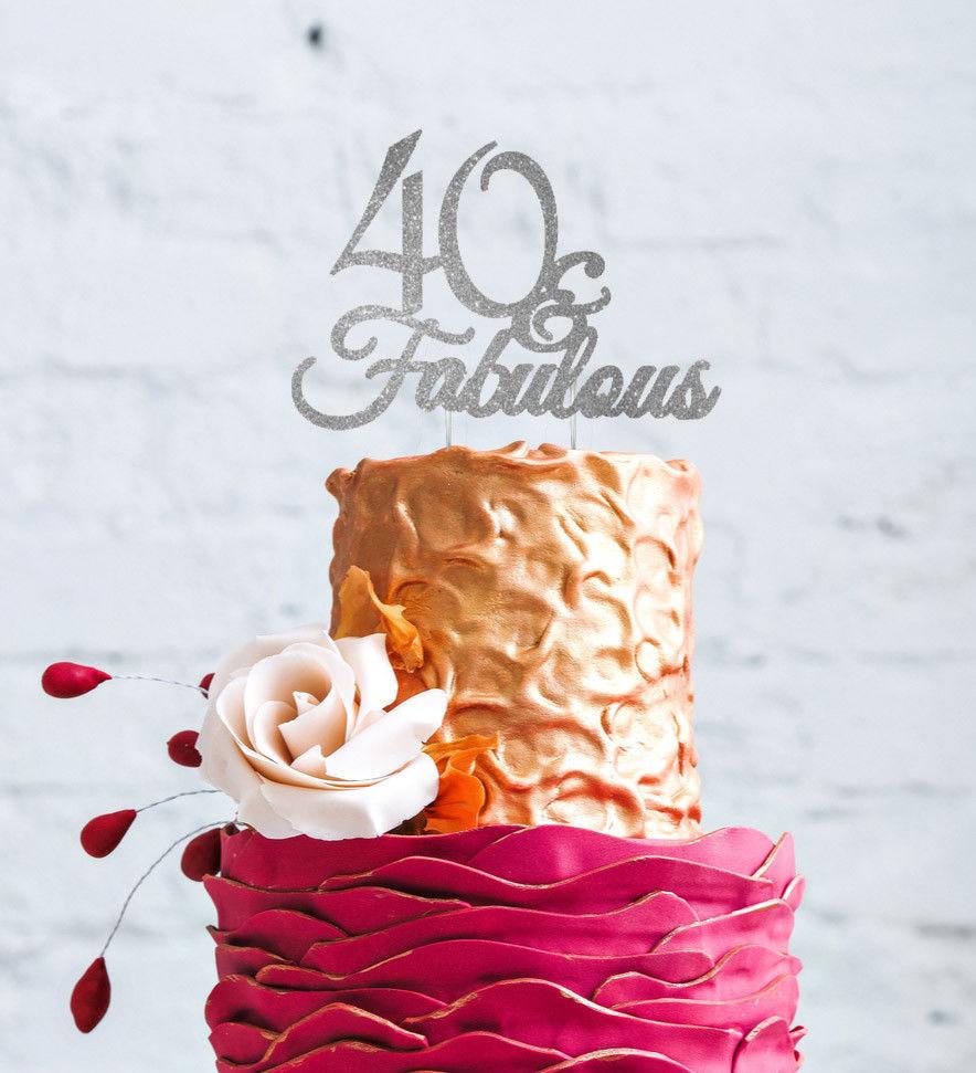 Strange 40Th Birthday Cake Toppers Shop 40Th Birthday Cake Toppers Online Funny Birthday Cards Online Inifodamsfinfo