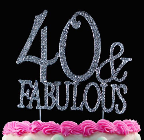 Sensational 40Th Birthday Cake Toppers Shop 40Th Birthday Cake Toppers Online Funny Birthday Cards Online Alyptdamsfinfo