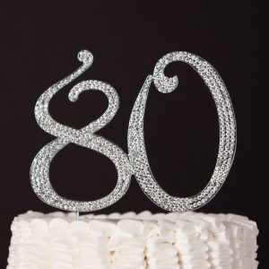 Outstanding 80Th Birthday Cake Toppers Shop 80Th Birthday Cake Toppers Online Funny Birthday Cards Online Alyptdamsfinfo