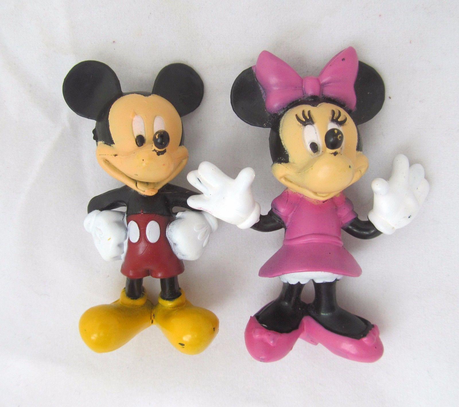 Brilliant Minnie Mouse Cake Toppers Shop Minnie Mouse Cake Toppers Online Personalised Birthday Cards Veneteletsinfo
