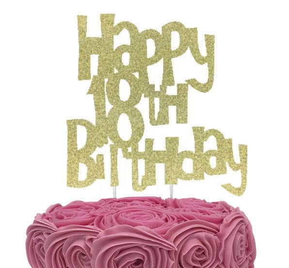 Cool 18Th Birthday Cake Toppers Shop 18Th Birthday Cake Toppers Online Personalised Birthday Cards Akebfashionlily Jamesorg