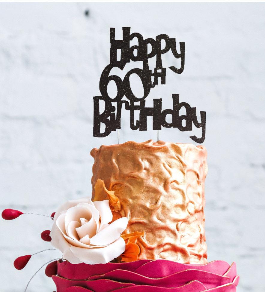 Outstanding 60Th Birthday Cake Toppers Shop 60Th Birthday Cake Toppers Online Funny Birthday Cards Online Amentibdeldamsfinfo