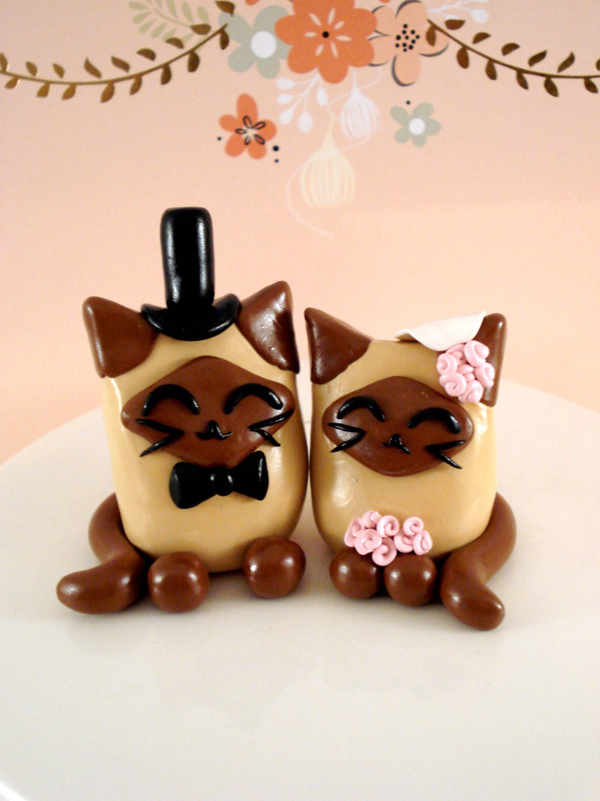 black cat wedding cake toppers cat wedding cake toppers shop cat wedding cake toppers 11859