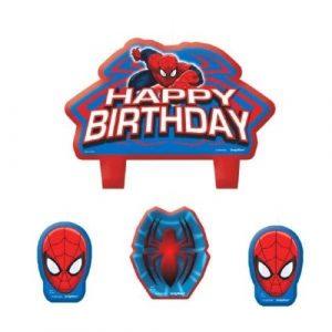 Brilliant Spiderman Cake Toppers Shop Spiderman Cake Toppers Online Funny Birthday Cards Online Unhofree Goldxyz