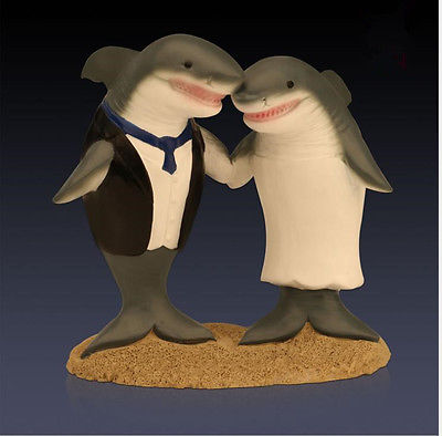 cartoon wedding cake toppers australia shark cake toppers shop shark cake toppers 12422